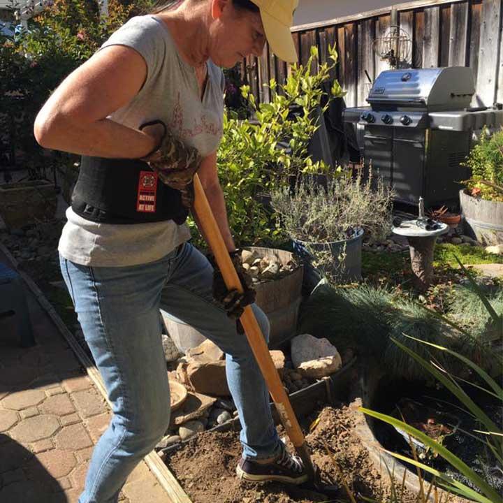 Back Brace for Gardening