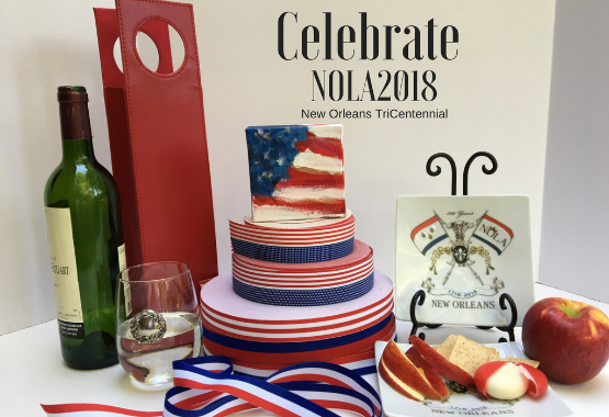 Celebrate NOLA2018 with Red White and Blue