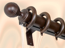Single Curtain Rod