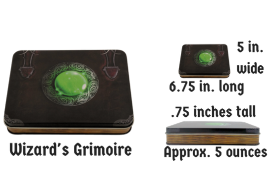 Wizaard's Grimoire Stats