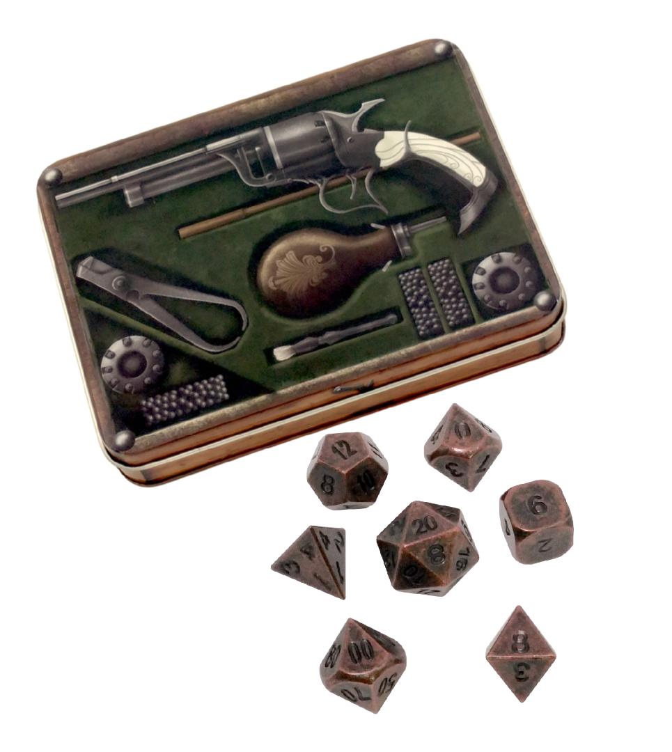 Gunslingers Kit with Gunmetal Brass