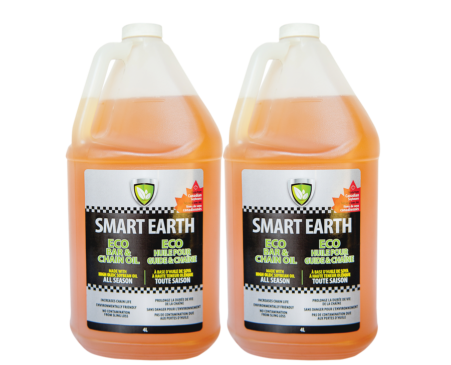 Smart Earth Bar and Chain Oil 4L 2 pack Bundle Product Image
