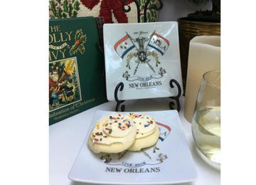 New Orleans Tricentennial Plate NOLA2018