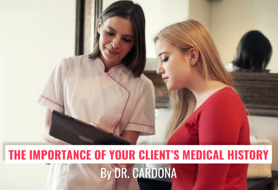 The Importance Of Your Client's Medical History (IMAGE)