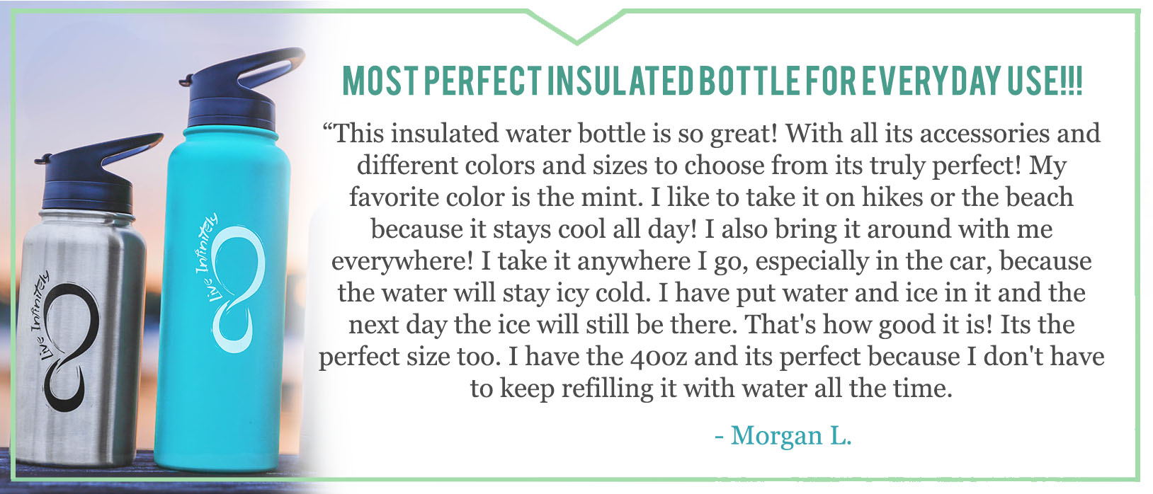 Insulated Bottle Review Costumer Review