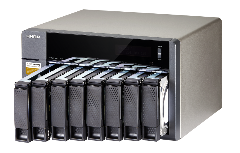 TS-853A The Essential NAS for Growing Businesses