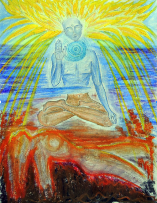 sacred yoga art