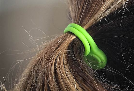In A Pinch For A Hair Tie? A Twistie To Hold Your Ponytail!