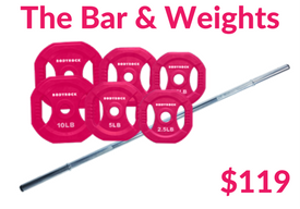 The Bar & Weights