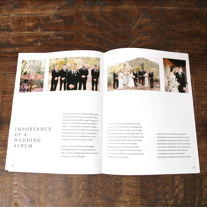 Weddings Welcome Guide - The Importance of a Wedding Photography Album