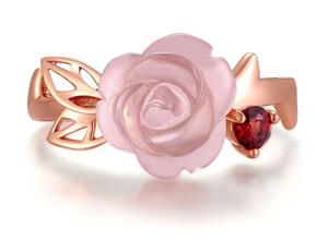 Rose Romance Ring