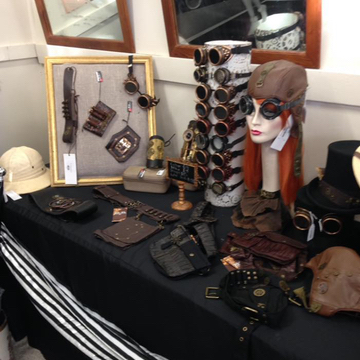 Gallery Serpentine has a wide range of steampunk accessories for men and women