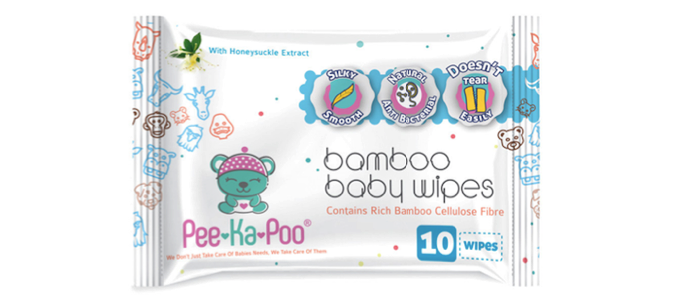 Bamboo Wet Wipes With Honeysuckle Extract