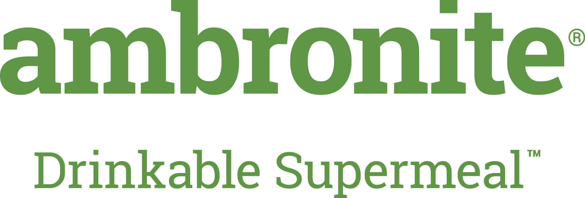Ambronite Drinkable Supermeal Logo