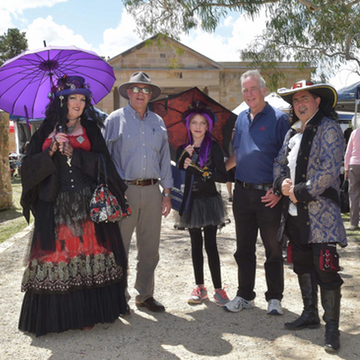 pirates and gypsies and baby bats all came out for back to hartley