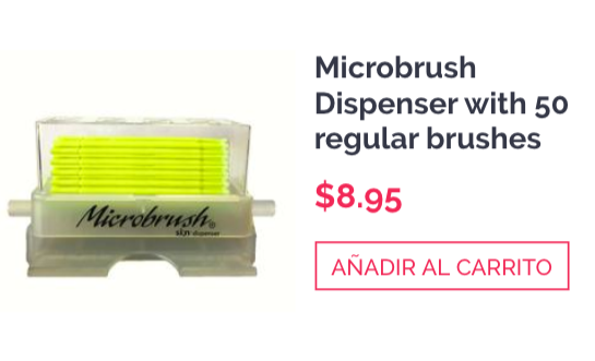 Microbrush Dispenser (50 regular brushes)