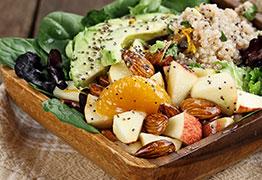 Chia Seeds On Salad