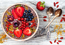 Chia Smoothie and Smoothie Bowls