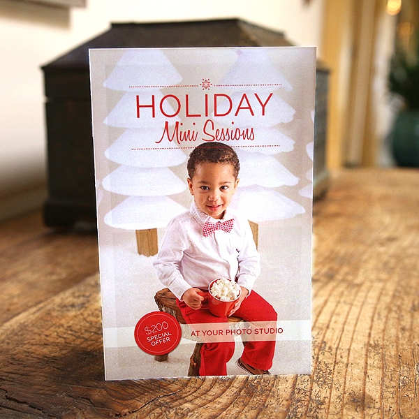 Holiday Mini Session Welcome Guide Template