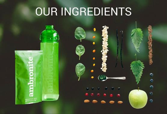Ambronite Supermeal Ingredients