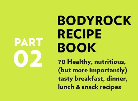 Part 2 - BodyRock Recipe Book