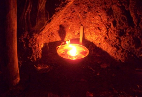 Deepam lamp Arunachala