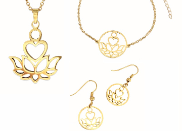 Gold Purity Jewelry Set