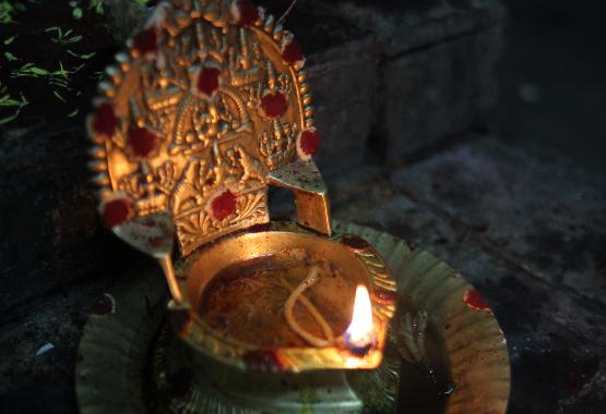 lakshmi deepam lamp