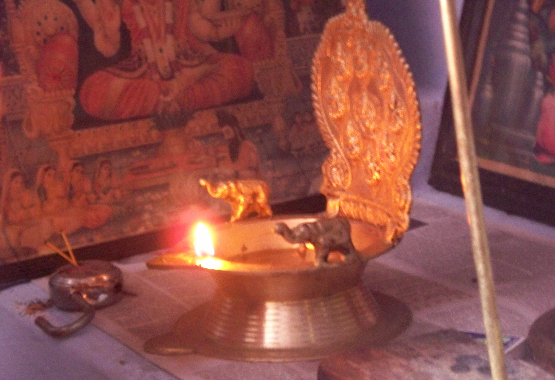 lakshmi deepam oil lamp