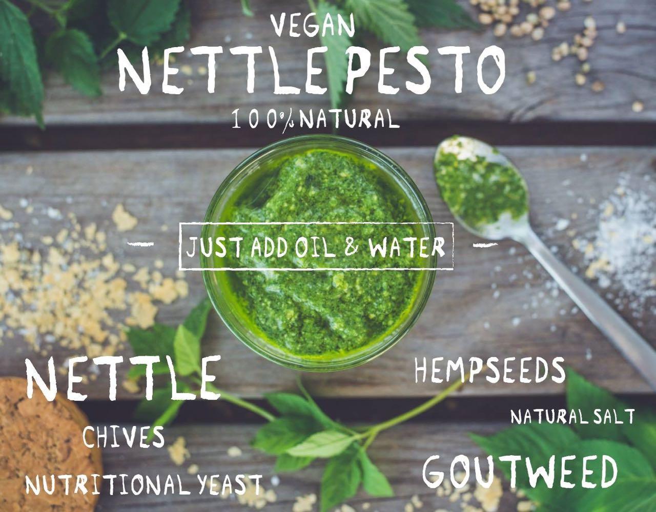 Vegan Nettle Pesto