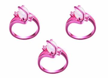 Lightning Bolt Sterling Silver Ring