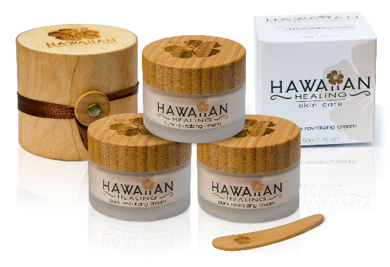 Pure Revitalizing Cream by Hawaiian Healing Skin Care