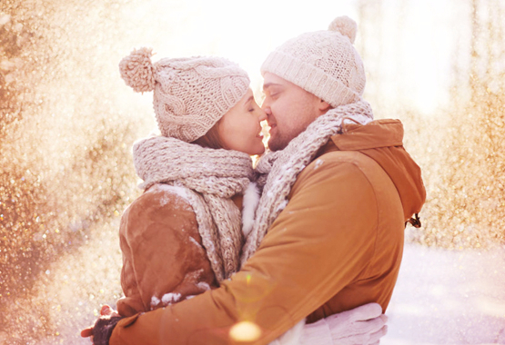 Winter romance image