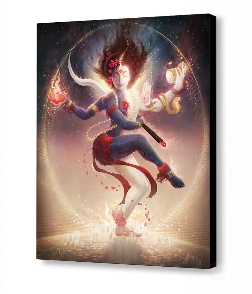 Tantric Dance Canvas Product Preview