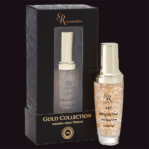 Hyaluronic Acid Serum With Melting Gold Filaments, Dead Sea Minerals & Powerful Active Peptides