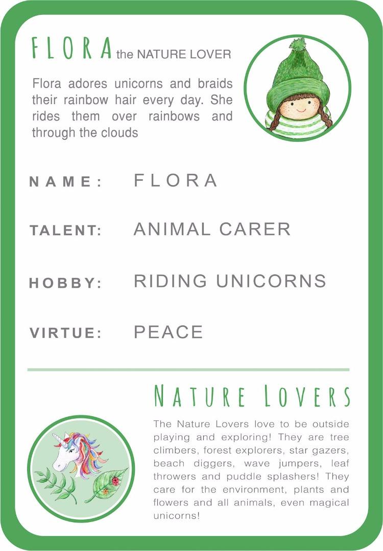 Flora Card Back