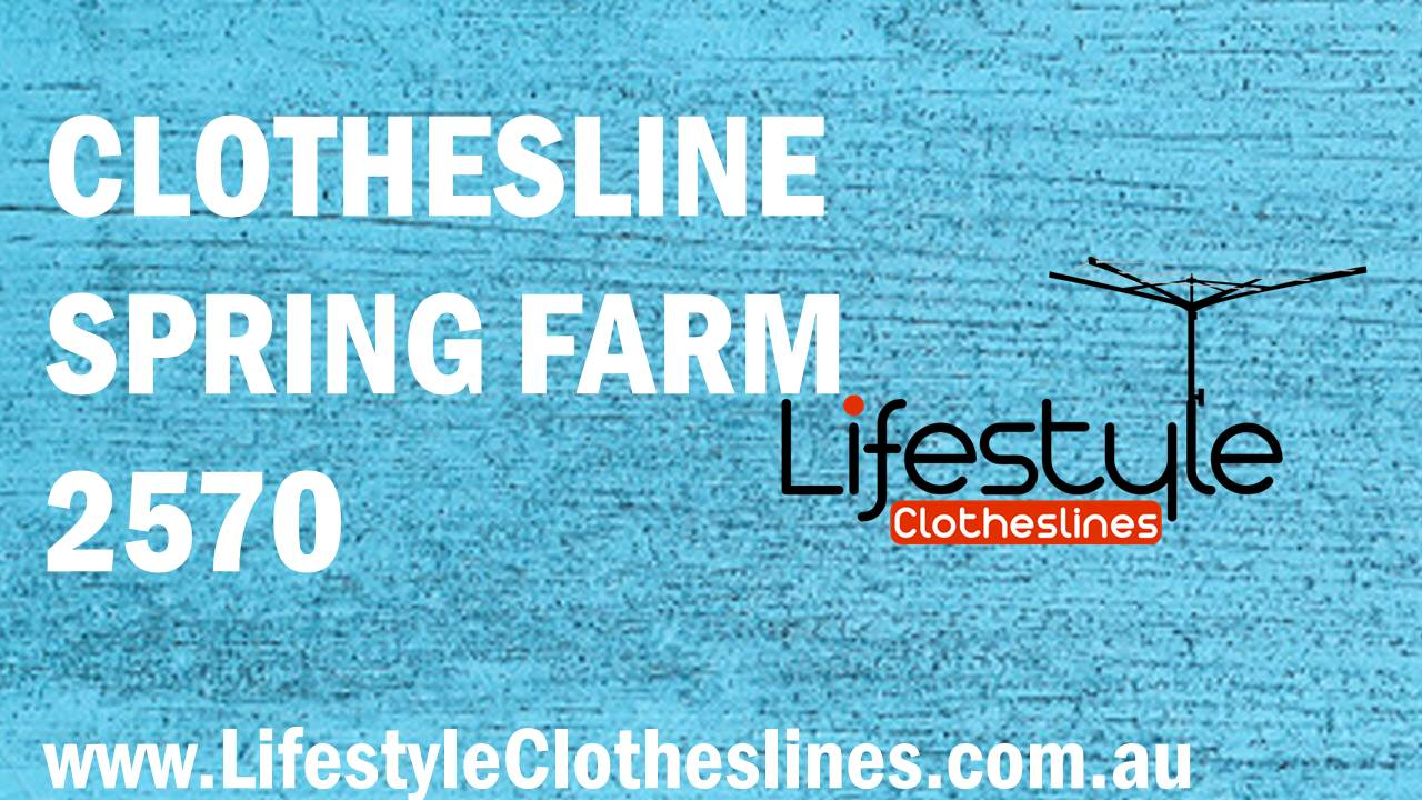 Clotheslines Spring Farm 2570 NSW