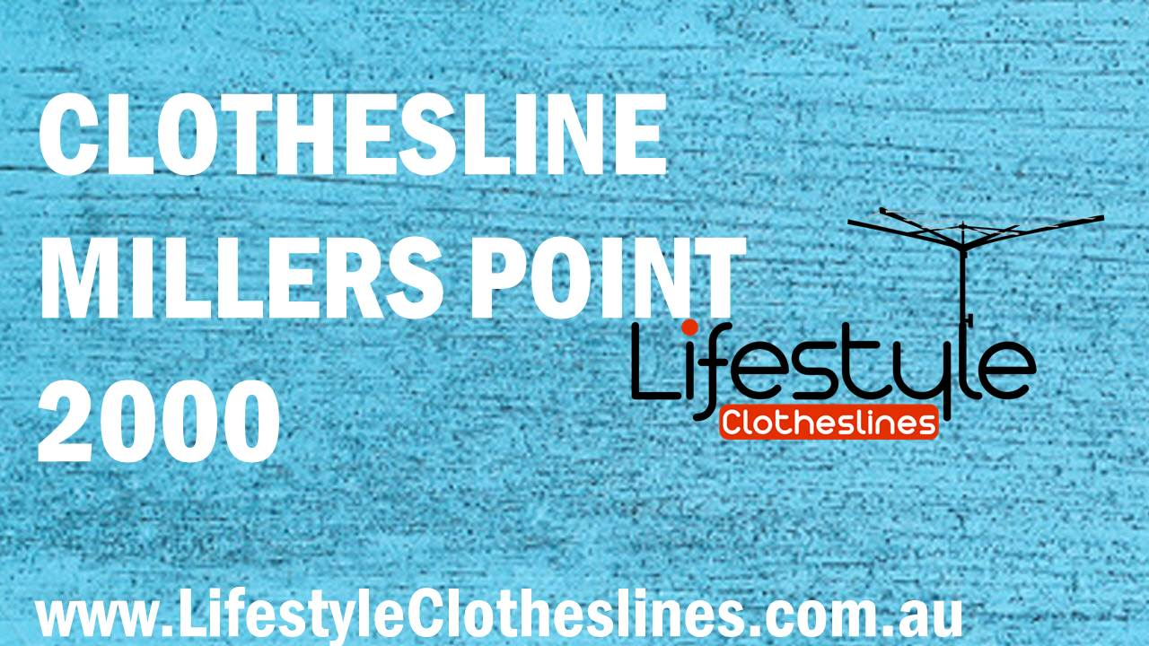 Clotheslines Millers Point 2000 NSW