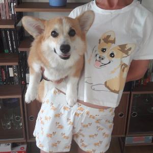 Corgi 2-Pieces Pajamas