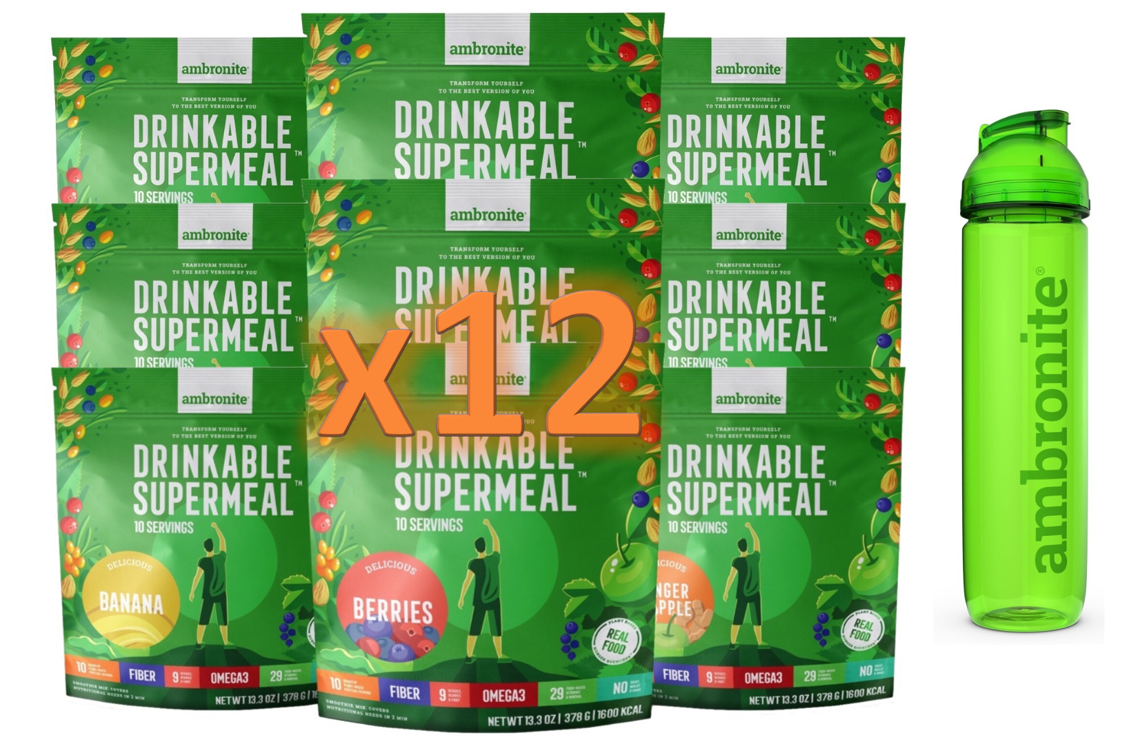Gift Card For One Year's Worth Of Ambronite Drinkable Supermeals
