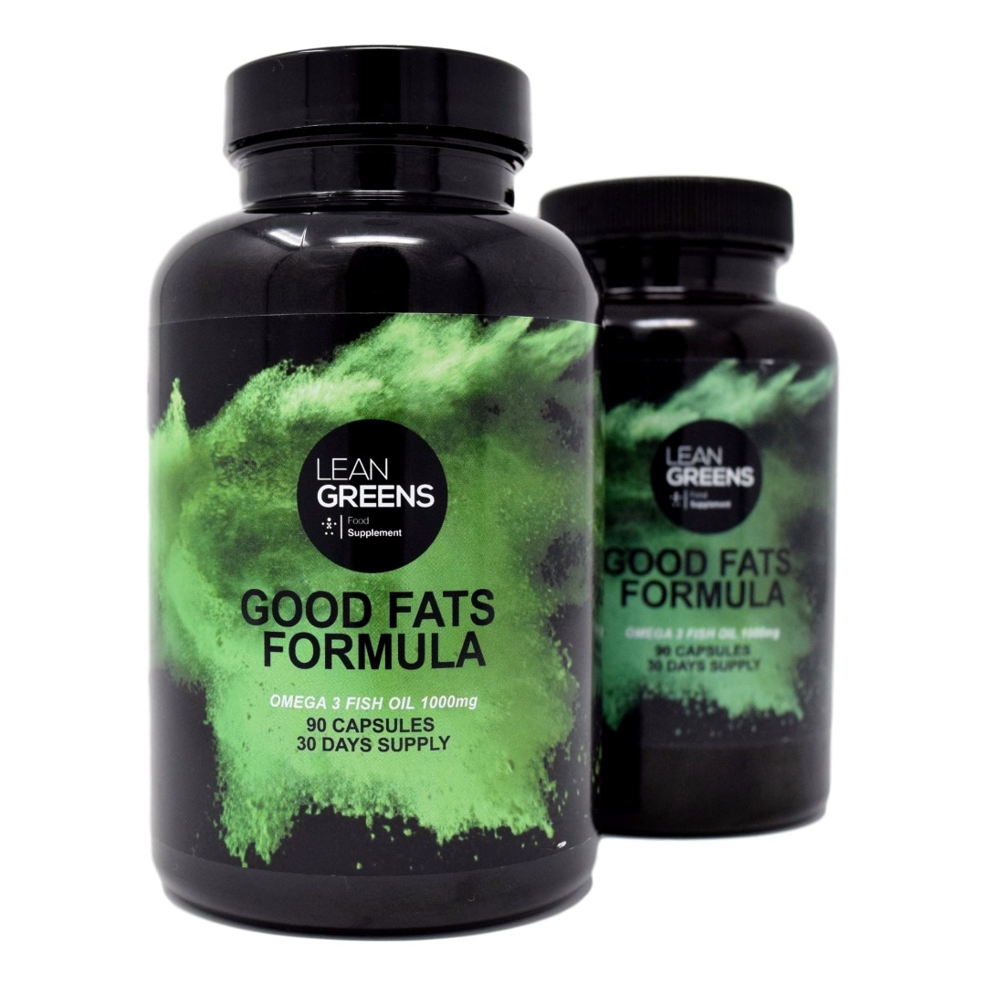 Good Fats Formula Omega 3 Fish Oils