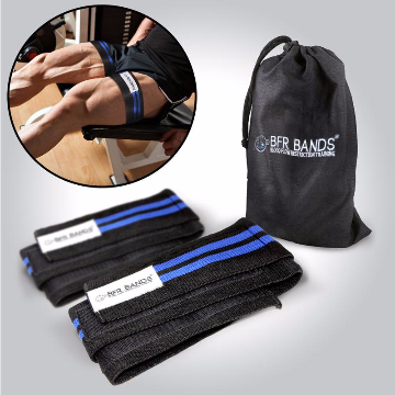Double Wrap Occlusion Training Bands ® For Legs & Calves