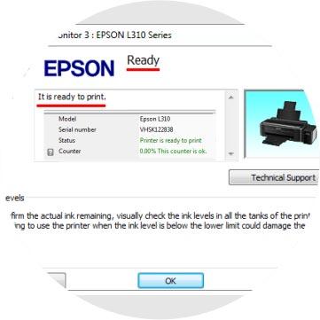 Download Reset Epson L120, L1300, L310, L1800, L220, L360, L210