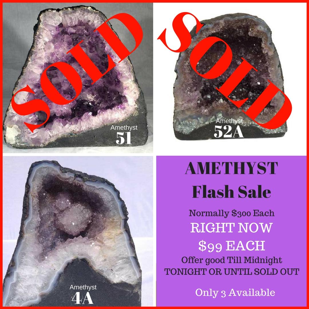 Amethyst Flash Sale
