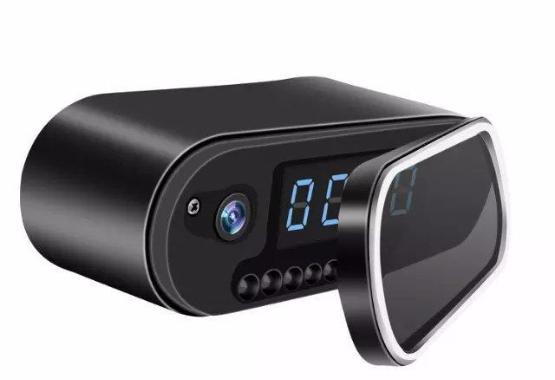 Mini Desktop Clock + WIFI Camera