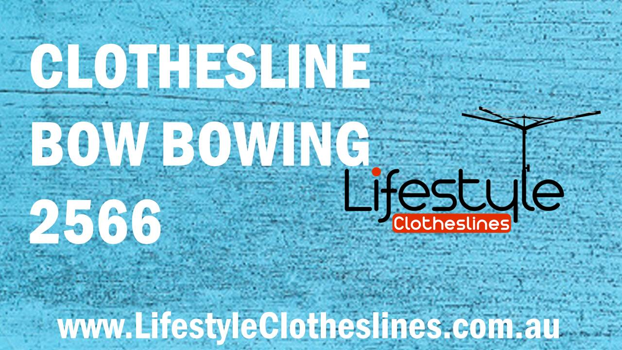 Clotheslines Bow Bowing 2566 NSW
