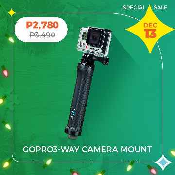 GoPro 3-Way Camera Mount AFAEM-001