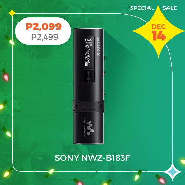 Sony NWZ-B183F Walkman