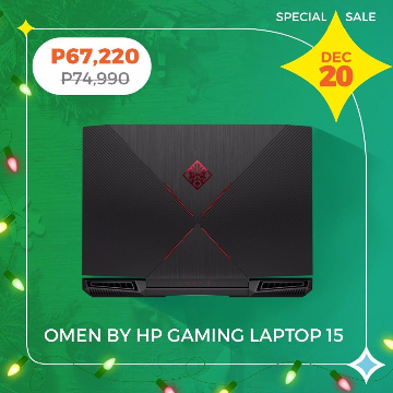 OMEN by HP Gaming Laptop 15 CE030TX