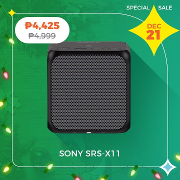 Sony SRS-X11 Wireless Speaker with Stereo Pairing